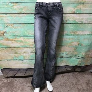 The Limited Sexy Drew Fit Faded Black Jeans